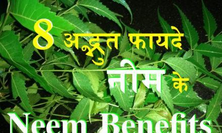 नीम एक फायदे अनेक: 8 Amazing benefits of Neem