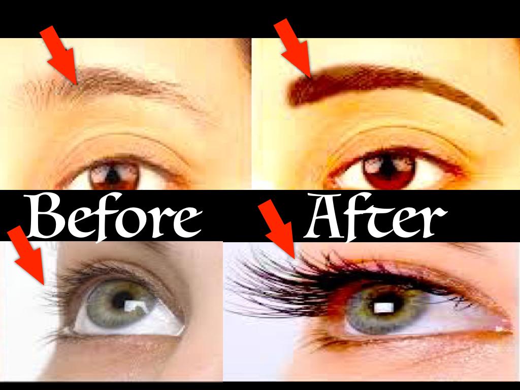 long, thick, black eye brow, eye lashes